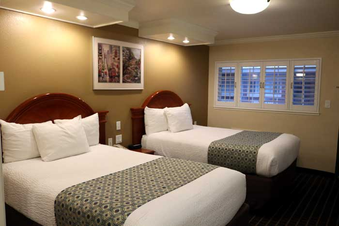 Newly Remodeled Boutique Hotel Motel Lodging Accommodations Budget Affordable Discount in San Franciso
