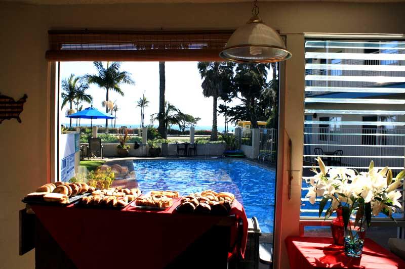 Free Continental Breakfast Cabrillo Inn Amenities Hotels Motels in East Beach Santa Barbara