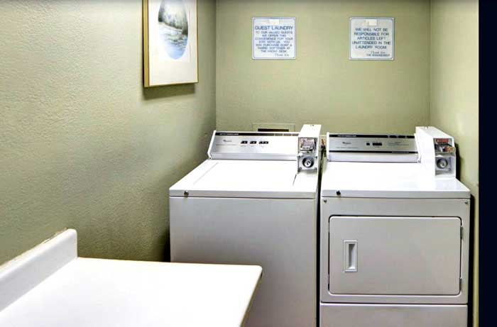 Guest Laundry Hotels Motels Amenities Newly Remodeled Free WiFi Free Continental Breakfast Comfort Inn Sheppard Air Force Base Wichita Falls TX Reasonable Affordable Rates Amenities Hotels Motels Lodging Accomodations Great Amenities Wichita Falls Texas