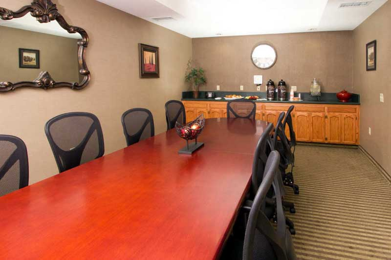 Boardroom Hotels Motels Amenities Newly Remodeled Free WiFi Free Continental Breakfast Comfort Inn Suites Downtown Visalia CA * Reasonable Affordable Rates Amenities Hotels Motels Lodging Accomodations Great Amenities Visalia California