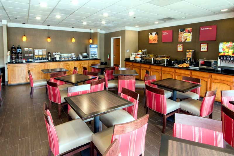 Free Continental Breakfast Hotels Motels Amenities Newly Remodeled Free WiFi Free Continental Breakfast Comfort Inn Suites Downtown Visalia CA * Reasonable Affordable Rates Amenities Hotels Motels Lodging Accomodations Great Amenities Visalia California