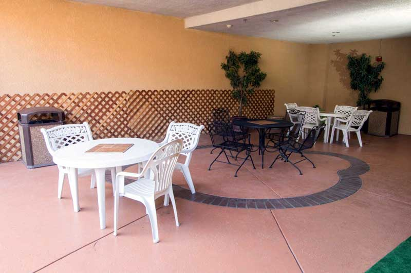Outdoor Patio Hotels Motels Amenities Newly Remodeled Free WiFi Free Continental Breakfast Comfort Inn Suites Downtown Visalia CA * Reasonable Affordable Rates Amenities Hotels Motels Lodging Accomodations Great Amenities Visalia California
