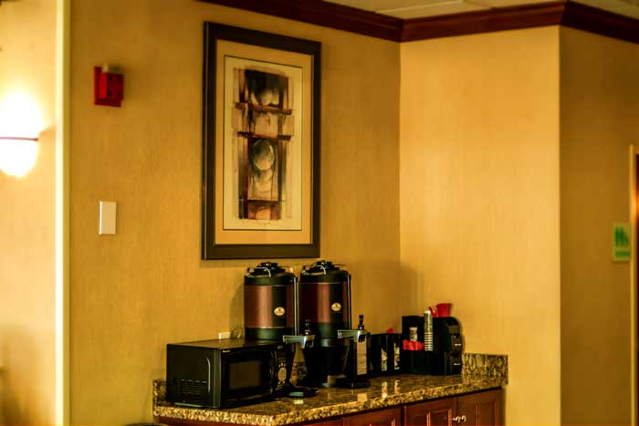 Coffee Hotels Motels Amenities Newly Remodeled Free WiFi Free Continental Breakfast Cottonwood Suites Louisville Fair & Expo Center Louisville KY Reasonable Affordable Rates Amenities Hotels Motels Lodging Accomodations Great Amenities Louisville Kentu