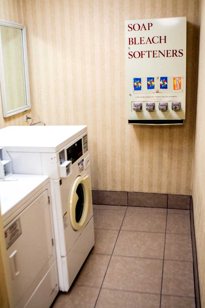 Laundry Room meetings AV Equipment Budget Affordable Cheap Discount Lodging Hotels Motels pet Friendly Louisville KY Cottonwood Suites KY