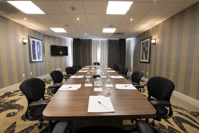 Board Room Hotels Motels Amenities Newly Remodeled Free WiFi Free Continental Breakfast Crowne Plaza Paramus MetLife Stadium Saddle Brook NJ Reasonable Affordable Rates Amenities Hotels Motels Lodging Accomodations Great Amenities Saddle Brook New Jersey
