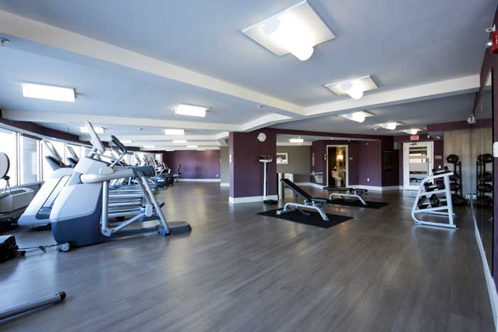 Fitness Center Hotels Motels Amenities Newly Remodeled Free WiFi Free Continental Breakfast Crowne Plaza Paramus MetLife Stadium Saddle Brook NJ Reasonable Affordable Rates Amenities Hotels Motels Lodging Accomodations Great Amenities Saddle Brook New Jer