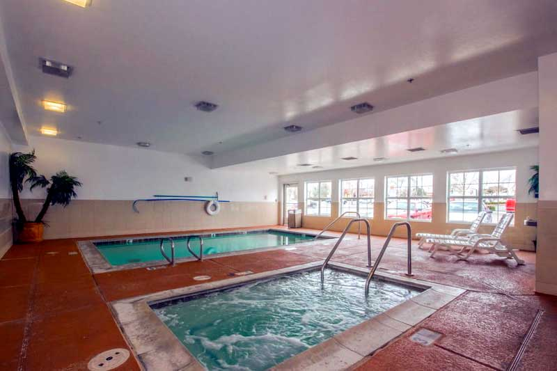 Indoor Pool Spa Jacuzzi Hotels Motels Amenities Newly Remodeled Free WiFi Free Continental Breakfast Extended Studio Inn Stay Victorville CA Reasonable Affordable Rates Amenities Hotels Motels Lodging Accomodations Great Amenities Victorville California