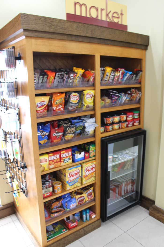 Snack Bar Hotels Motels Amenities Newly Remodeled Free WiFi Free Continental Breakfast Fairfield Inn and Suites Liberty Kansas City MO Reasonable Affordable Rates Amenities Hotels Motels Lodging Accomodations Great Amenities Kansas City Missouri