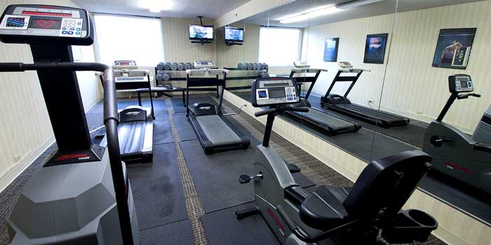 Fitness Center Hotels Motels Amenities Newly Remodeled Free WiFi Free Continental Breakfast Gateway Hotel Dallas TX Reasonable Affordable Rates Amenities Hotels Motels Lodging Accomodations Great Amenities Dallas Texas