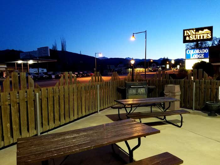 Barbeque Hotels Motels Amenities Newly Remodeled Free WiFi Free Continental Breakfast Great Western Colorado Lodge Salida CO Reasonable Affordable Rates Amenities Hotels Motels Lodging Accomodations Great Amenities Salida Colorado