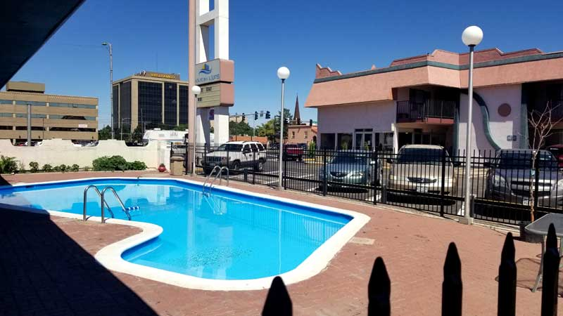 Seasonal Outdoor Pool Hotels lodging Accommodations Pueblo Colorado