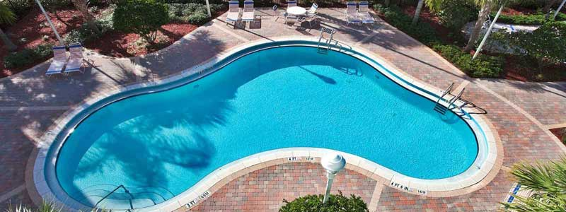 Outdoor Pool Spa Playground Great Amenties Budget Affordable Close Disney World Holiday Inn Express and Suites Lake Buena Vista Orlando