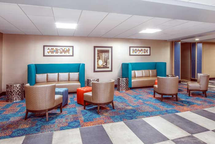 Free WiFi and Free Parking Hotels Motels Amenities Newly Remodeled Free WiFi Free Continental Breakfast Holiday Inn Express & Suites Kansas City West Shawnee KS Reasonable Affordable Rates Amenities Hotels Motels Lodging Accomodations Great Amenities Shaw