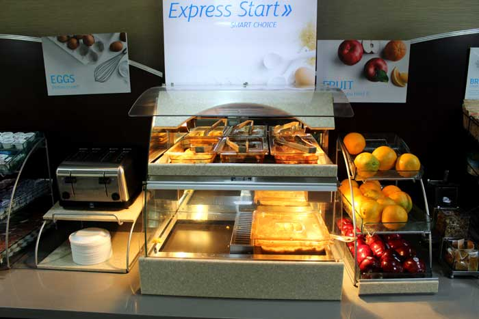 Free Hot Breakfast Buffet Indoor Pool Fitness Center Business Center NO Pets Allowed Newly Built Holiday Inn Express and Suites Shawnee Kansas City West