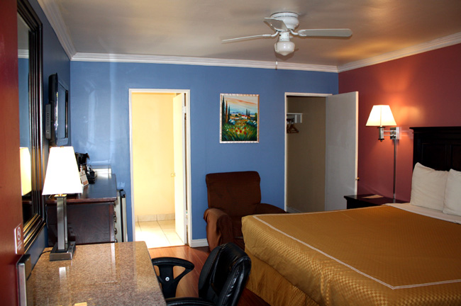 Extended Stay Living Hotels Motels Hacienda Motel Lodging UC Santa Barbara
