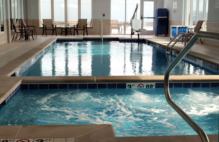 Indoor Heated Pool Spa Hotels Motels Amenities Newly Remodeled Free WiFi Free Continental Breakfast Holiday Inn Salina KS Reasonable Affordable Rates Amenities Hotels Motels Lodging Accomodations Great Amenities Salina Kansas