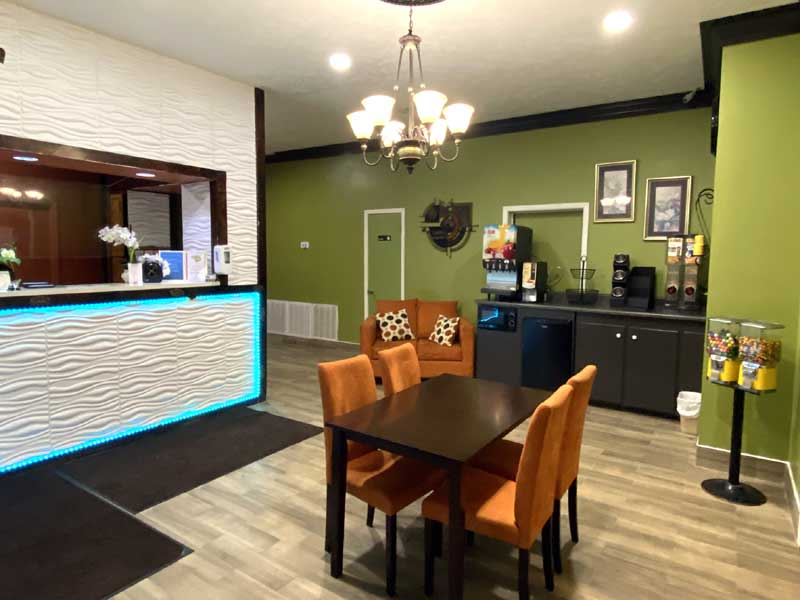 Free Continental Breakfast Amenities Newly Remodeled Free WiFi Free Continental Breakfast Holiday Terrace Hoston MS * Reasonable Affordable Rates Amenities Hotels Motels Lodging Accomodations Great Amenities Hoston Mississippi
