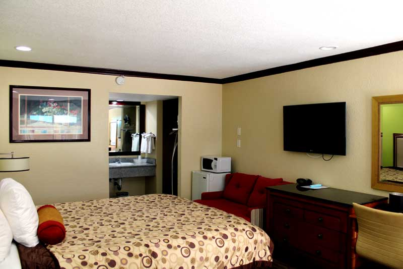 Newly Remodeled Air Conditioning Hotels Motels Free Coffee Flat Screen TVs Imperial Inn Oakland Bay Area Bridge Jack London Square