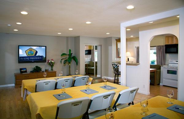 Meeting Room Family Suite Downtown Solvang Santa Ynez Valley Hotels Motels King Frederik Inn