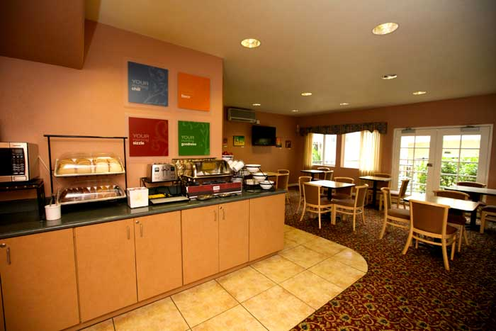 Free Continental Breakfast Hotels Motels Amenities Newly Remodeled Free WiFi Free Continental Breakfast Lamplighter Inn Downtown Cal Poly San Luis Obispo CA Reasonable Affordable Rates Amenities Hotels Motels Lodging Accomodations Great Amenities San Luis