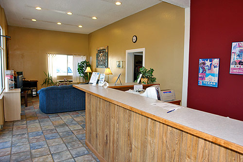 Hotels Amentities Coffee Free WiFi * Motel 6 Lodging Van Horn Texas Newly Renovated