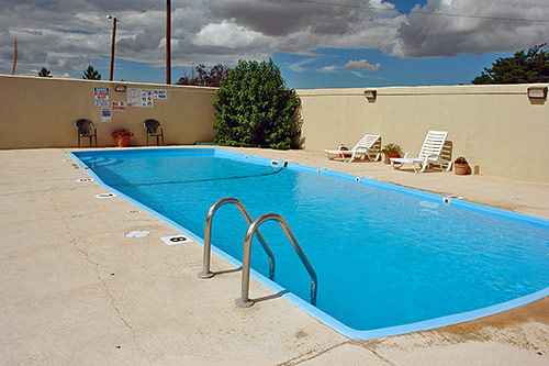 Hotels Amentities Seasonal Outdoor Pool * Motel 6 Lodging Van Horn Texas Newly Renovated