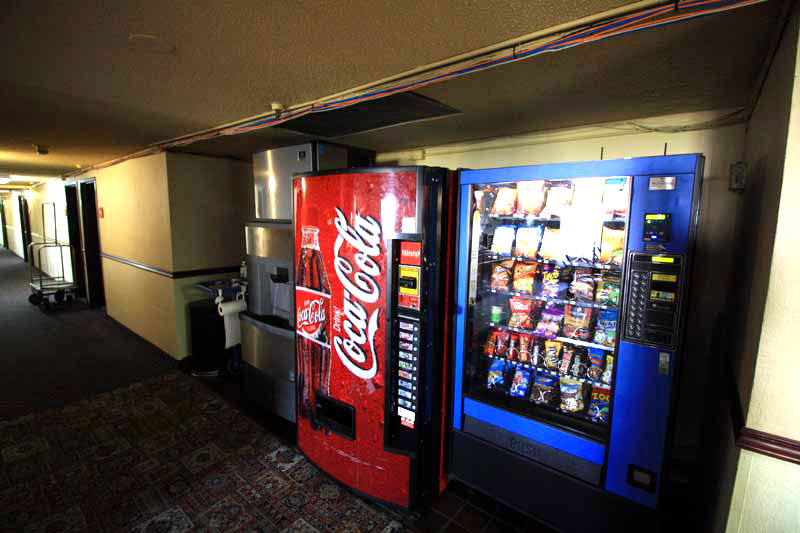Vending Machines Hotels Motels Amenities Newly Remodeled Free WiFi Free Continental Breakfast Norwwod Inn and Suites Minneapolis St. Paul Red Roof Roseville MN Reasonable Affordable Rates Amenities Hotels Motels Lodging Accomodations Great Amenities Rosev