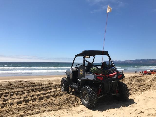 Walk to Oceano Dunes Entrance and ATV Rentals