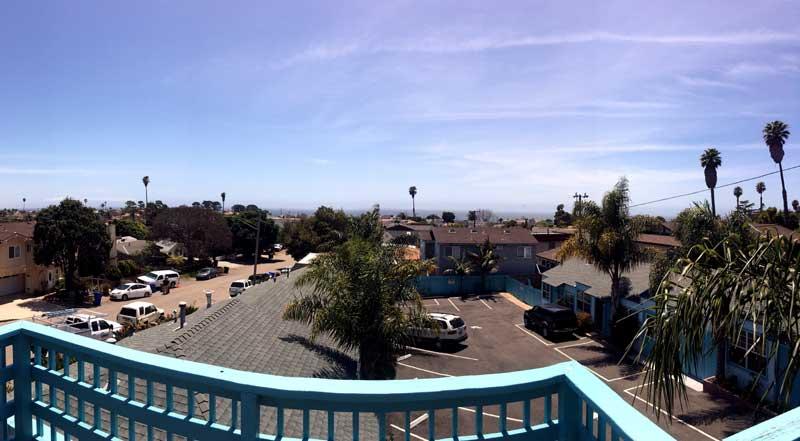 Patio Views The Palomar Inn Hotels Motels in Shell Beach San Luis Obispo Ca.