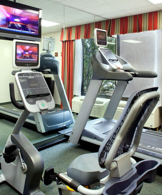 Fitness Room Hotels Motels Amenities Newly Remodeled Free WiFi Free Continental Breakfast Quality Inn and Suites St. Louis Florissant MO Reasonable Affordable Rates Amenities Hotels Motels Lodging Accomodations Great Amenities Florissant Missouri
