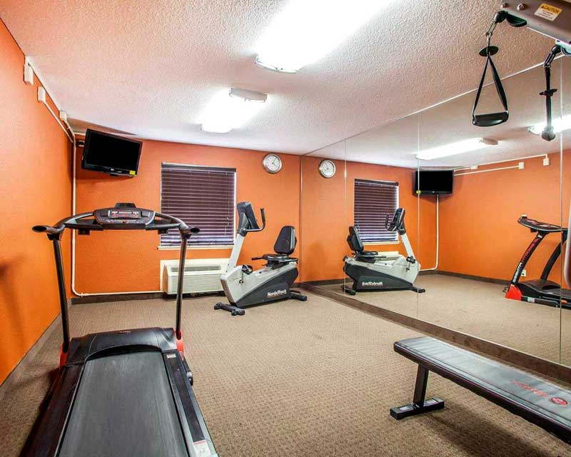Fitness Center St. Louis Airport Hotels Lodging Accommodations