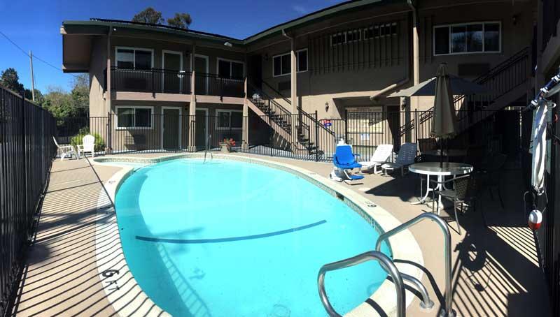 Seasonal Outdoor Pool Ramada Olive Tree Inn San Luis Obispo Ca.