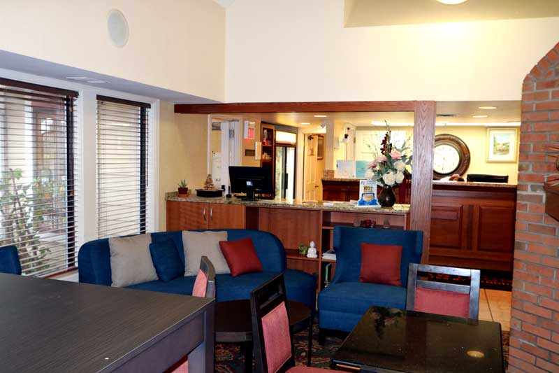 Business Center Meeting Facilities Newly Remodeled Free WiFi Free Continental Breakfast Stay Place Suites West Akron OH * Reasonable Affordable Rates Amenities Hotels Motels Lodging Accomodations Great Amenities Akron Ohio