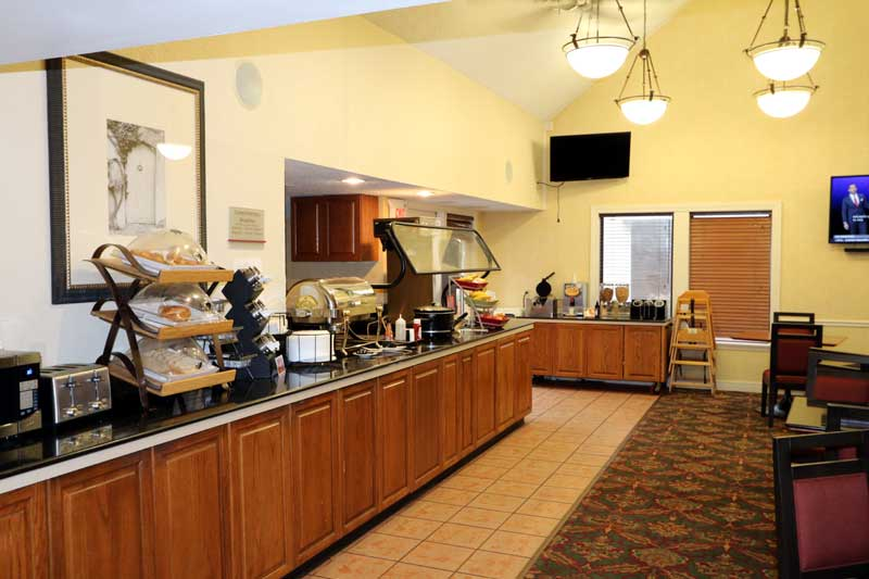 Free Breakfast Buffet Newly Remodeled Wifi Continental Stay Place Suites West Akron Oh