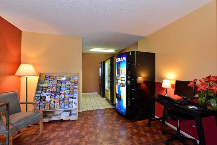 Vending Machines Hotels Motels Amenities Newly Remodeled Free WiFi Free Continental Breakfast Suburban Extended Stay Albuquerque NM Reasonable Affordable Rates Amenities Hotels Motels Lodging Accomodations Great Amenities Albuquerque New Mexico