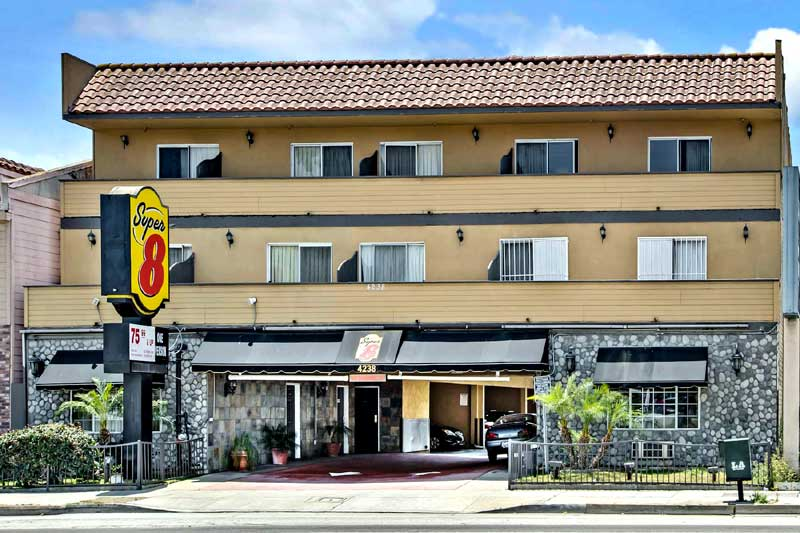 Airport Hotel Shuttle Motels Amenities Newly Remodeled Free WiFi Free Continental Breakfast Super 8 LAX Los Angeles Airport Inglewood CA * Reasonable Affordable Rates Amenities Hotels Motels Lodging Accomodations Great Amenities Inglewood California
