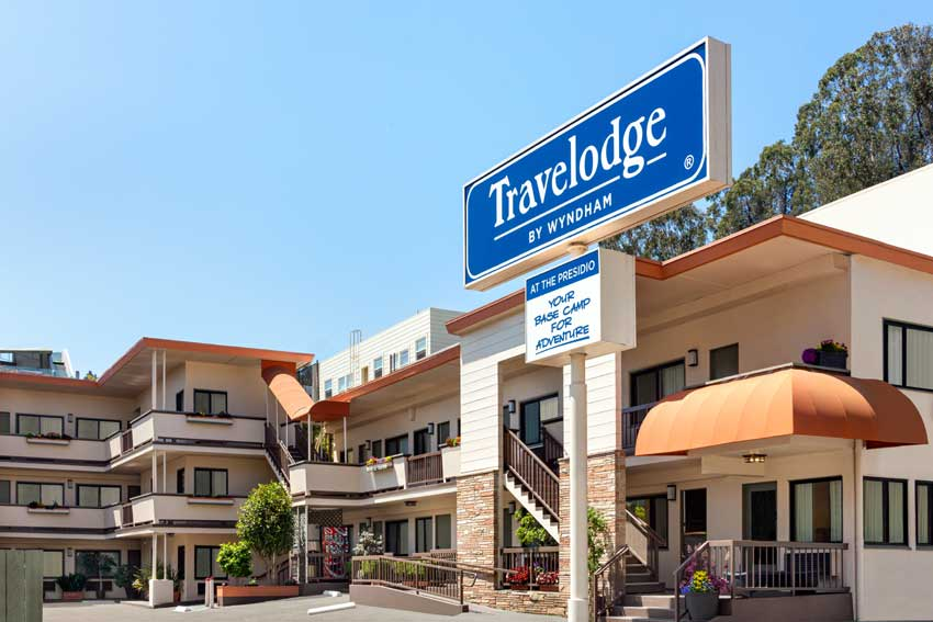 Hotels In San Francisco Ca Travelodge Presidio Golden Gate San