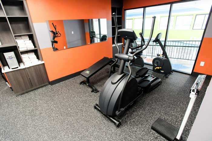 Fitness Room Wingate Dallas Texas Love Field Airport