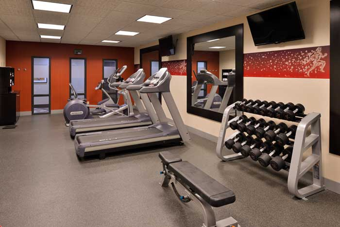 BEST WESTERN PLUS Fitness Room Former Hampton Inn Wichita Airport West Inn Hotels Motels Lodging Colle University Free Airport Shuttle