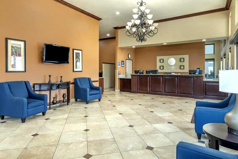 WIFI Hotels Motels Amenities Newly Remodeled Free WiFi Free Continental Breakfast Comfort Inn & Suites San Bernardino Colton CA Reasonable Affordable Rates Amenities Hotels Motels Lodging Accomodations Great Amenities Colton California