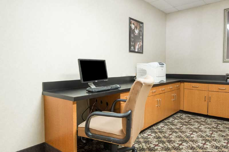 Business Center Hotels Motels Amenities Newly Remodeled Free WiFi Free Continental Breakfast Crash Pad DFW Airport Dallas Wingate Irving TX Reasonable Affordable Rates Amenities Hotels Motels Lodging Accomodations Great Amenities Irving Texas