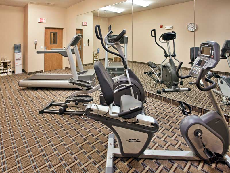 Fitness Center IHG Holiday Inn Express Liberty Kansas