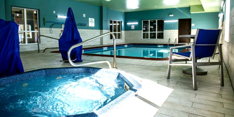 Indoor Heated Pool Budget Affordable Lodging Accommodations Holiday Inn Express Liberty Kansas City