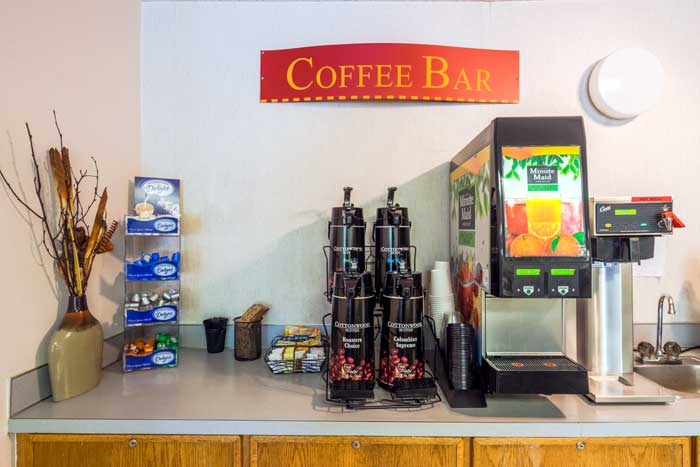 Coffee Bar Cottonwood Suites Boise