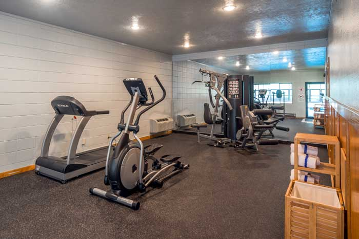 Fitness Room Gym Cottonwood Suites Boise