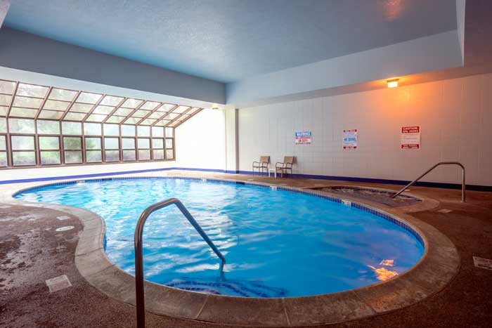 Heated Indoor Pool and Spa Hotels Motels Amenities Newly Remodeled Free WiFi Free Continental Breakfast Cottonwood Suites Downtown Riverside Boise ID Reasonable Affordable Rates Amenities Hotels Motels Lodging Accomodations Great Amenities Boise Idaho