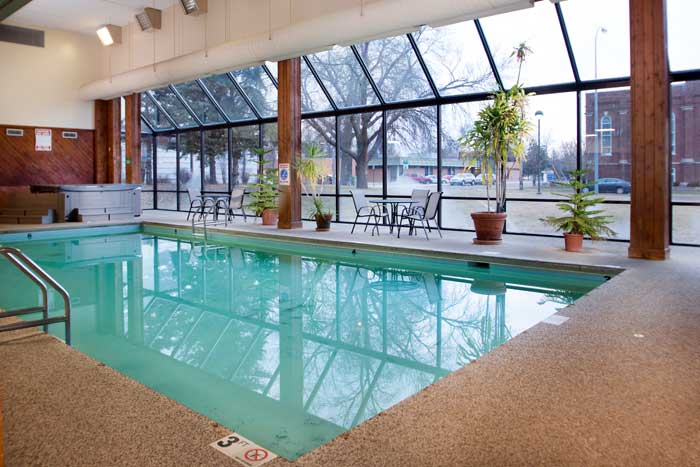 Indoor Pool and Spa Hotels Motels Amenities Newly Remodeled Free WiFi Free Continental Breakfast Crossroads Event Center Conference Weddings Huron SD Reasonable Affordable Rates Amenities Hotels Motels Lodging Accomodations Great Amenities Huron South Dak