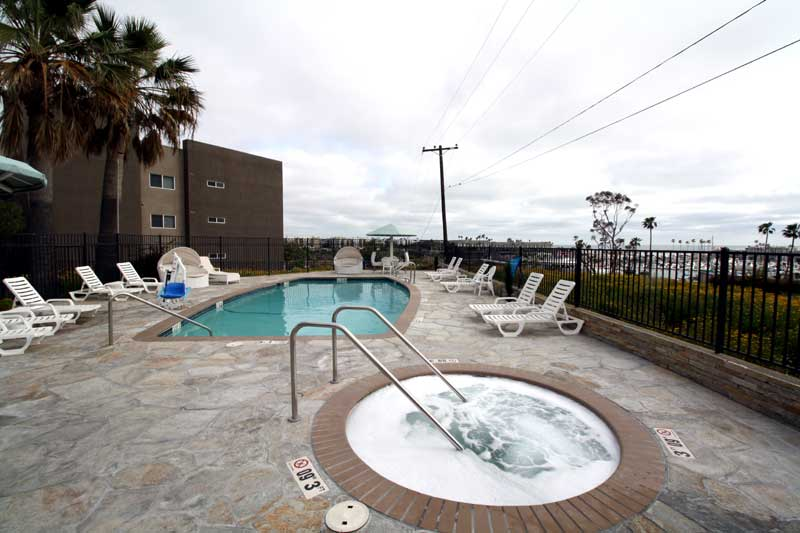 Heated Pool and Spa Amenities Hotels Lodging Accommodations Oceanside california * Budget Hotels Motels lodging Amenities