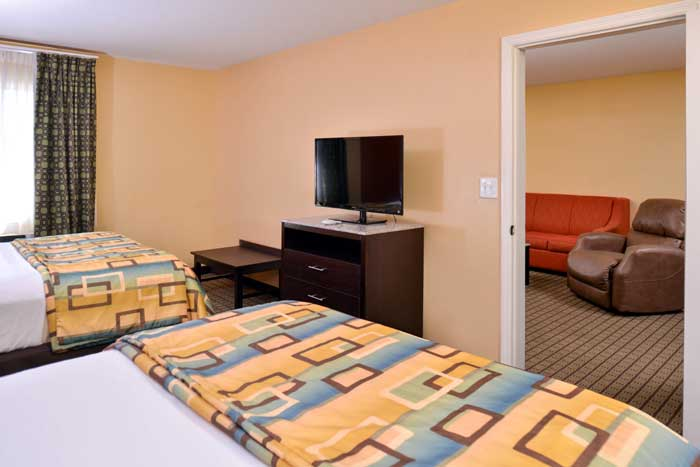 Family Suite with Kitchen Business Travelers Extended Stay Living Hotels Motels Douglas Inn Cleveland Tennessee
