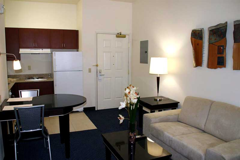 Extended Stay Studio Hotel Victorville California 20 Percent Discount Full Kitchen Seperate Bedrooms Flat Screen TVs